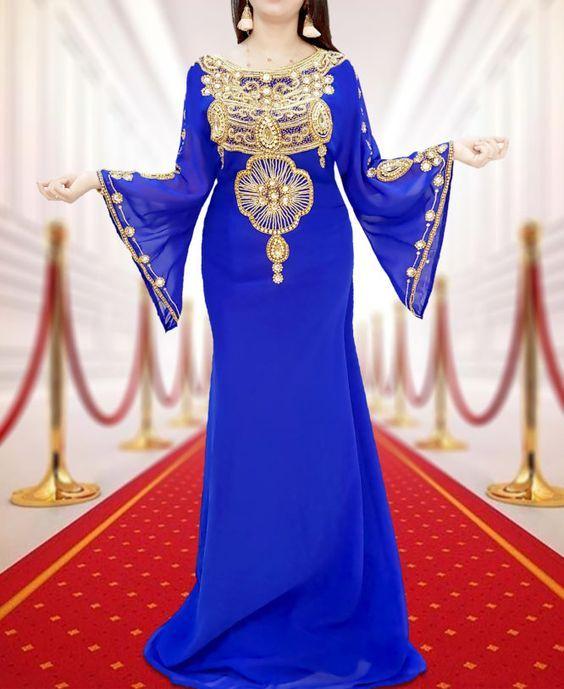 مدل لباس مجلسی بلند رنگ سال 99